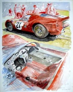 Ferrari P4 Le Mans 1967