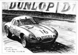 Jaguar type E Peter Linder Racing LM64