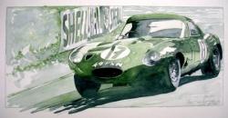 Jaguar type E LM 64 n°17