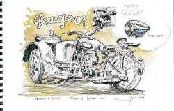 Triporteur Peugeot