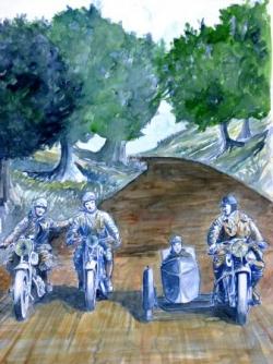affiche moto RMS