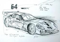 Corvette Le Mans 2008