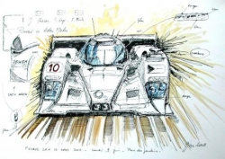 Lola-Aston Martin LM 2008