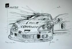 Corvette n°63 LM 2007