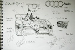 Audi LMP1 LM 2007