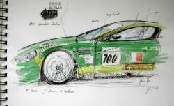 Aston Martin DBR9 GT1 LM 2007