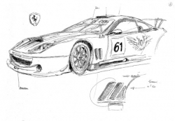 Ferrari pesage LM 2006