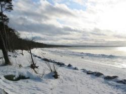 La Baltique gelée