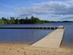 Lac du Sud de l'Estonie