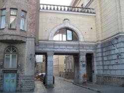 Entrée de l'ancien quartier général du KGB