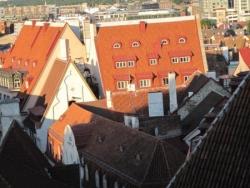 Les toits de Tallinn