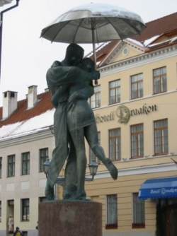 Statue de la fontaine de la Raekoja Plats