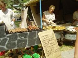 Gastronomie Estonienne au Festival Médiéval