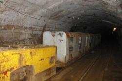 Dans la mine