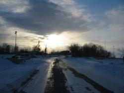 En route pour Narva