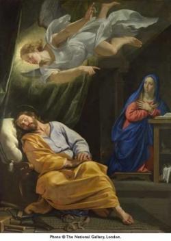 La vision de saint Joseph
