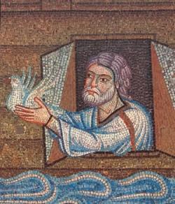 Noé envoie la colombe