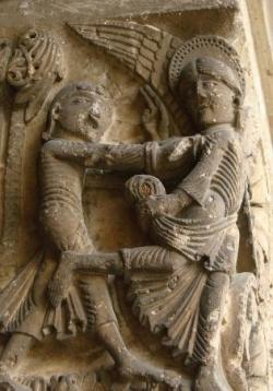 Vézelay chapiteau XIIème s.