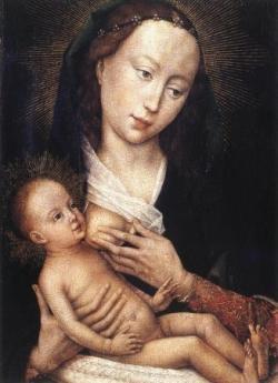 Marie allaite ou Maria lactans