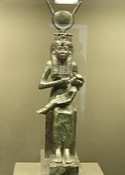 Isis allaite Horus