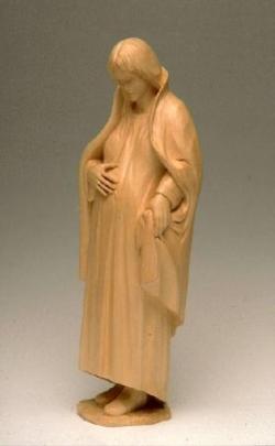 Vierge de St Jean Port Joli au Québec