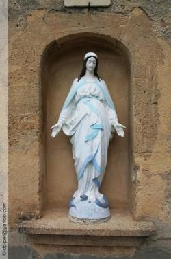 Vierge de Cornillon-Confoux en Provence