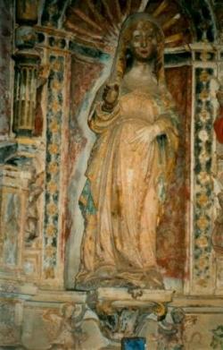Vierge du château de Montemort O Veihlo au Portuga