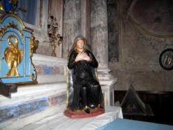 Vierge assise de l'Escarène (Alpes maritimes)