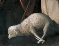 Adoration des bergers Détail