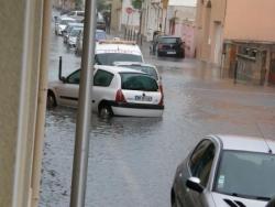 Rue Guy de Montpellier à Palavas