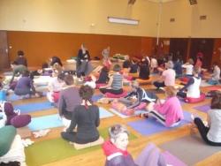 Le coin des pratiquantes de l'Atelier de Yoga Iyen