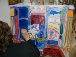 Peinture à l'huile étude