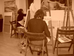 Le coin des peintres