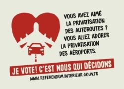 Mobilisation référendum ADP Poitiers le 26 octobre 2019