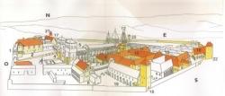 Reconstitution de l'abbaye