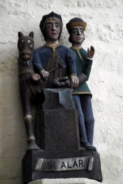Sant Alar à Plozevet © Bernard Rio