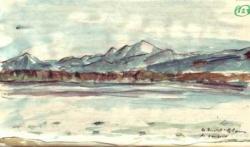 Le Mont-Blanc de Versoix