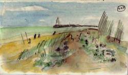 Dunes au Cap d'Agde