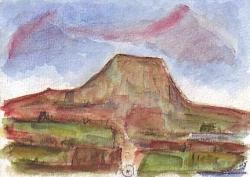 Sainte-Victoire, 1995.
