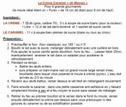La Crème Caramel, un dessert de fée