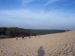à coté de la dune