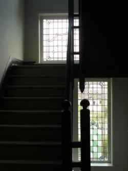 Cage d'escalier.
