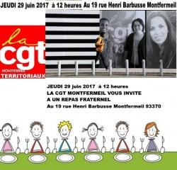 NOUVEAU LOCAUX CGT MONTFERMEIL