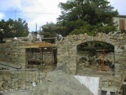 réalisation des arches cintrées