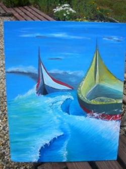 Barques sur Mer