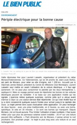 Article Le Bien Public 280312
