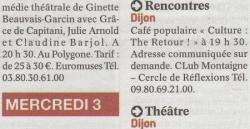 Publication Quartier Libre Le Bien Public 280912