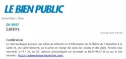 Publication Bienpublic.com 120612