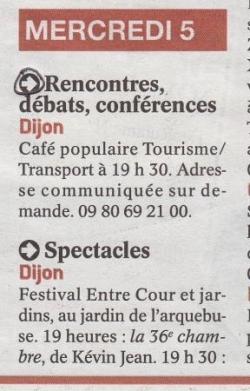 Publication Quartier Libre Le Bien Public 310812