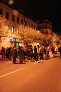 Au beau milieu de la nuit, la mobilisation continu
